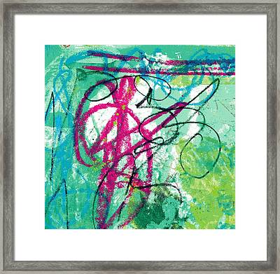 Virginia Tiny Art #106 Framed Print by Stacey Brown