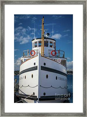 Virginia V  Framed Print by Inge Johnsson