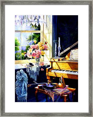 Virginia Waltz Framed Print by Hanne Lore Koehler