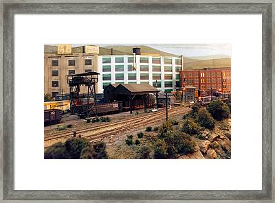 Virginian And Ohio Yard Framed Print by Pat Turner