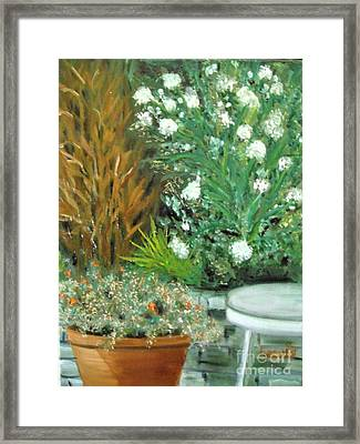 Virginia's Garden Framed Print