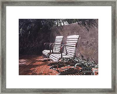 Virginia's Repose Framed Print