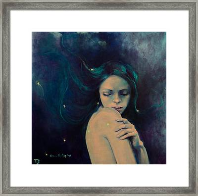 Virgo Framed Print by Dorina  Costras