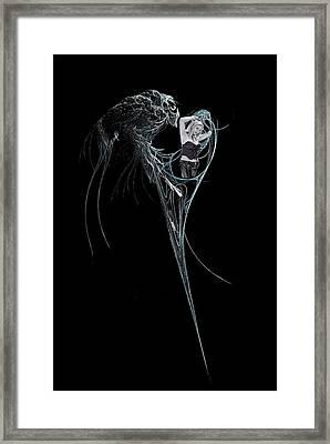 Virgo Framed Print by Viktor Savchenko