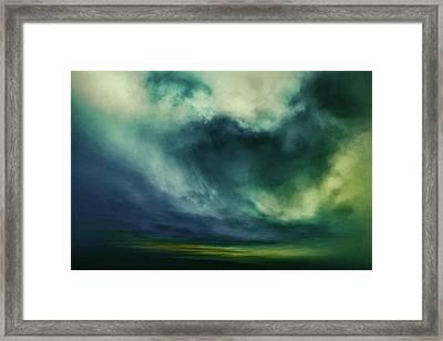 Viridian Framed Print by Lonnie Christopher