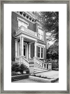 Viriginia Commonwealth University Founders Hall Framed Print