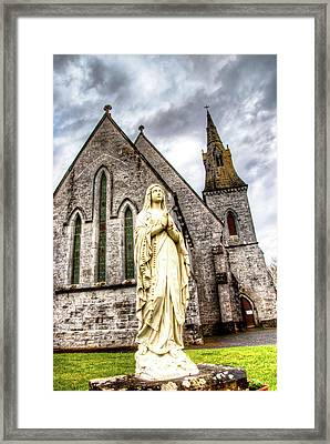 Virign Mary Framed Print by Natasha Bishop