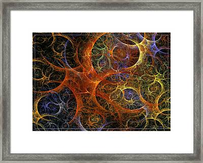 Virile Moment Framed Print
