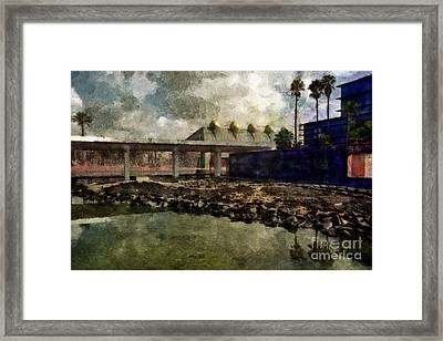 Framed Print featuring the photograph Virtual Reality by Dariusz Gudowicz