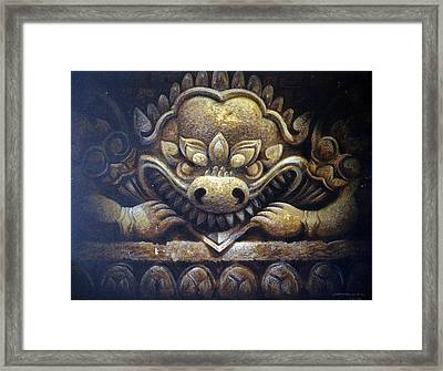 Virtue Framed Print