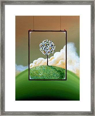 Virtue Framed Print by Cindy Thornton