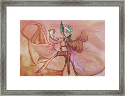 Virtue Of Woman Framed Print by MandyCka Johnson