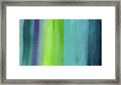 Vishnu- Art By Linda Woods Framed Print by Linda Woods