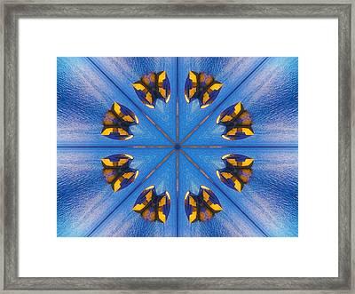 Vishuda Manipura Chakra Healing  Framed Print by Dagmar Batyahav