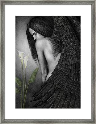 Visible Darkness Framed Print by Pat Erickson