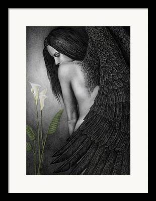 Angel Wings Framed Prints