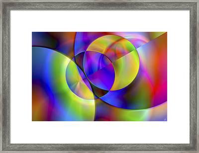 Vision 13 Framed Print