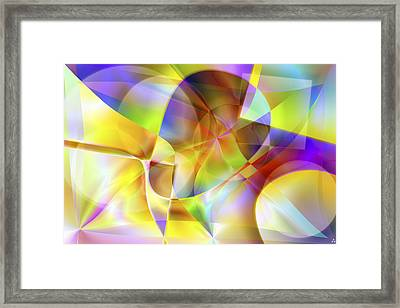Vision 34 Framed Print