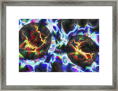 Vision 43 Framed Print