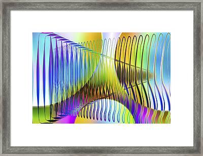 Vision 45 Framed Print