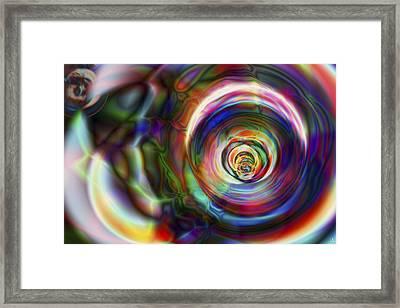 Vision 8 Framed Print