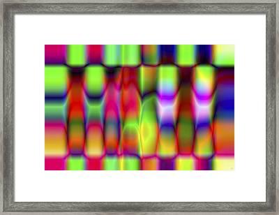 Vision 9 Framed Print