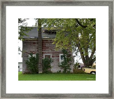 Vision Of Abandon Country Home II Framed Print
