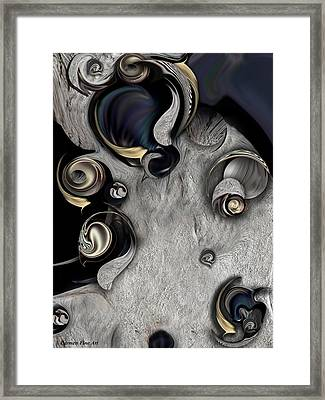 Vision Of Aesthetic Thing Framed Print