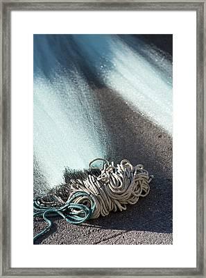 Vision Of Rope 2 Framed Print