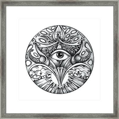 Vision Framed Print by Shadia Derbyshire