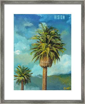 Vision Framed Print by Stephen Schubert