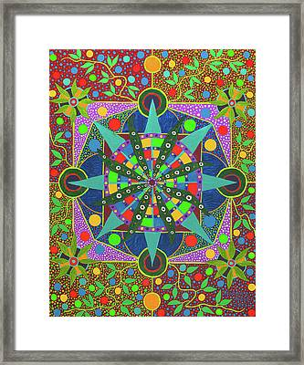 Vision - The Dna Of Plants Framed Print
