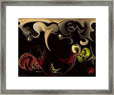 Framed Print featuring the digital art Vision With Purity by Carmen Fine Art