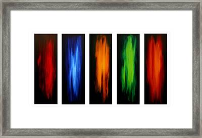 Visionary By Madart Framed Print by Megan Duncanson