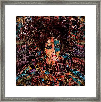Visionary Sophia Framed Print