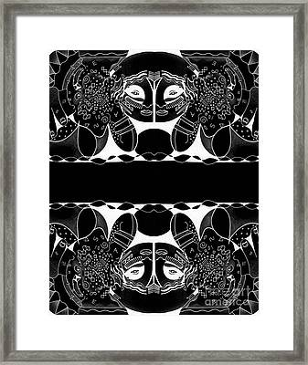 Visions And Reversals Framed Print