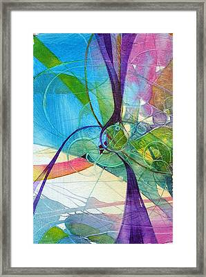 Visions In Motion Framed Print