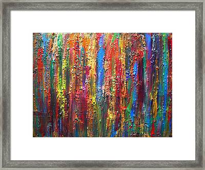 Visions Framed Print by Kerry Smith
