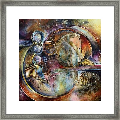 'visions Of Eight' Framed Print by Michael Lang