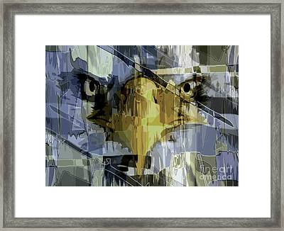 Visions Of Gold Framed Print