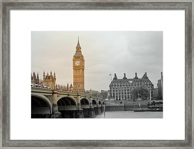Visions Of Parliament Framed Print