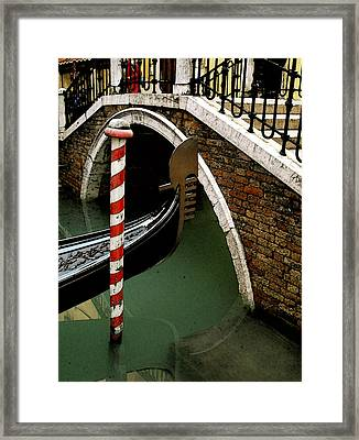 Visions Of Venice 1. Framed Print by Nancy Bradley