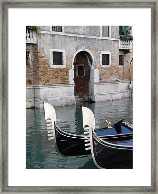 Visions Of Venice 3. Framed Print by Nancy Bradley