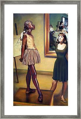 Visit To The Museum Framed Print by Patrick Anthony Pierson
