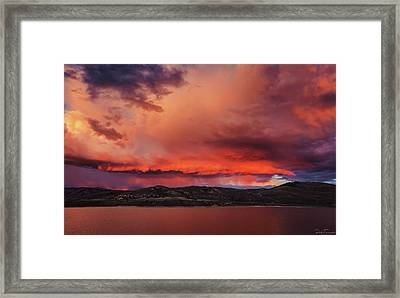 Visitation Framed Print