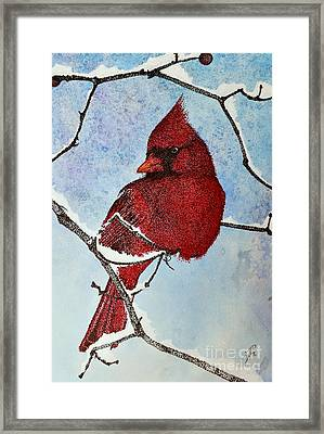 Framed Print featuring the painting Visiting Spirit by Suzette Kallen
