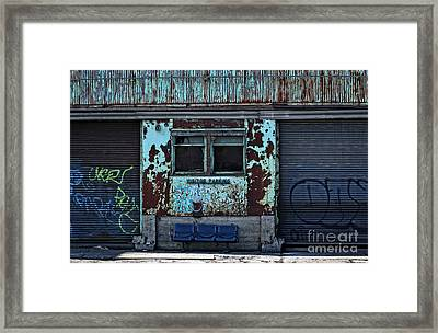 Visitor Parking Framed Print by Charline Xia