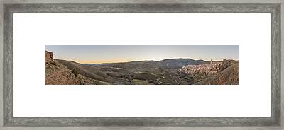 Vista De Moros Framed Print
