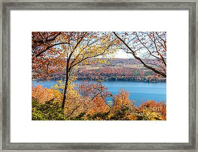 Vista From Garrett Chapel Framed Print