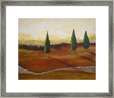 Vista Grande Framed Print by Herb Dickinson